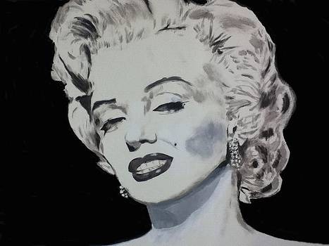 Marilyn Monroe by Dan Twyman
