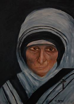 Mother Theresa by Margaret Pappas