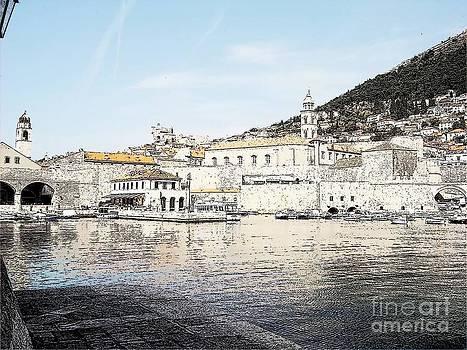 old Port Dubrovnik by Luksa Obradovic