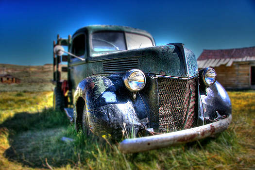 Old Truck at Bodie by Chris Brannen