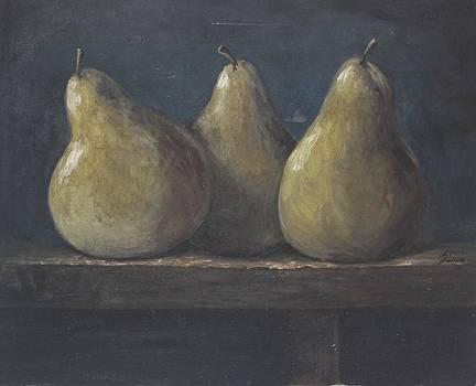 3 Peras by Silvia Lemos