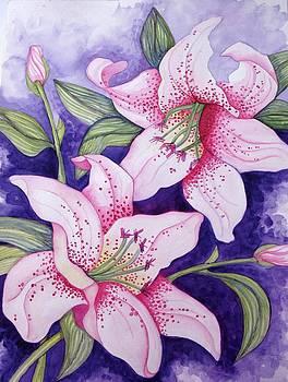 Stargazer Lilies by Debralyn Skidmore
