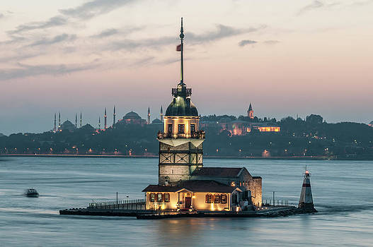 The Maiden's Tower by Ayhan Altun