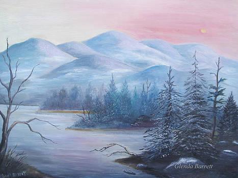Winter in the Mountains by Glenda Barrett
