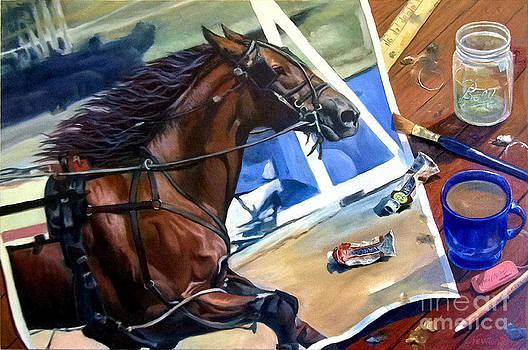 Work In Progress IV by Jeanne Newton Schoborg