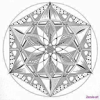 329. Mandala Fulfill  by Martin Zezula