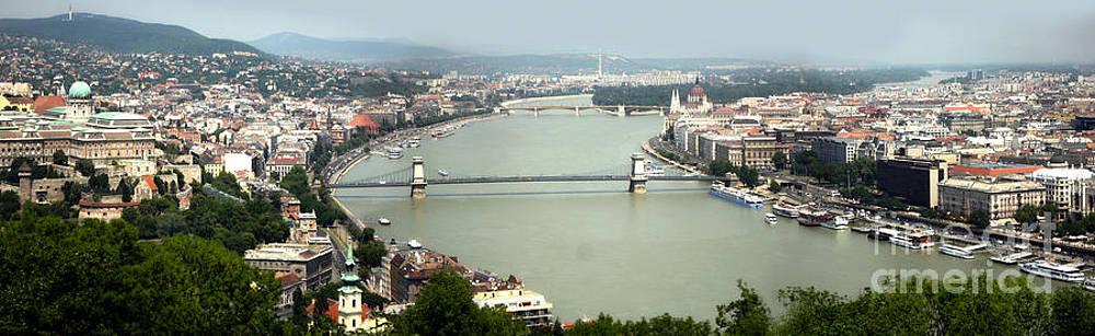 Gregory Dyer - Budapest Hungary Panorama