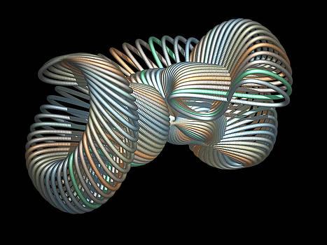 3D Fractal Klein Bottle by Faye Giblin