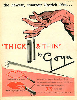 1940s Uk Goya Magazine Advert by The Advertising Archives