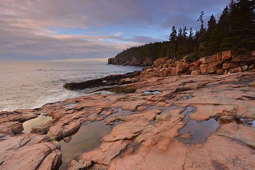 Acadia Sunrise by Stephen  Vecchiotti