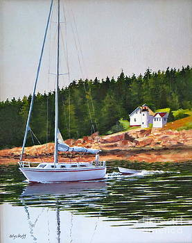 Karol Wyckoff - BASS HARBOR LIGHT