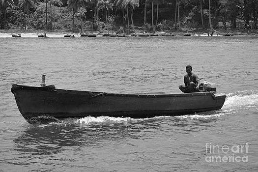 Boat  by Bobby Mandal