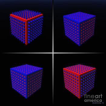 Walter Oliver Neal - 4 Fetish Cubes 1