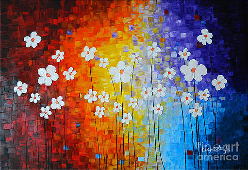 Flowers After Rain by Denisa Laura Doltu