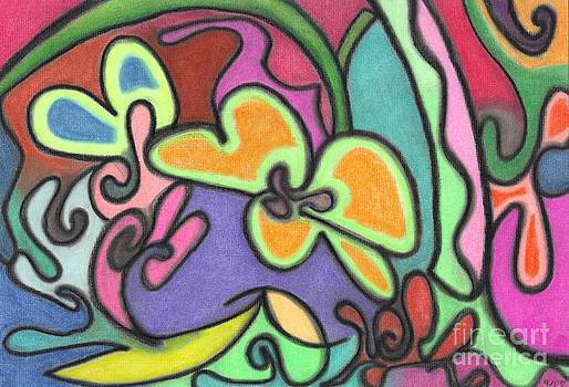 Fluid Flowers by Christine Perry