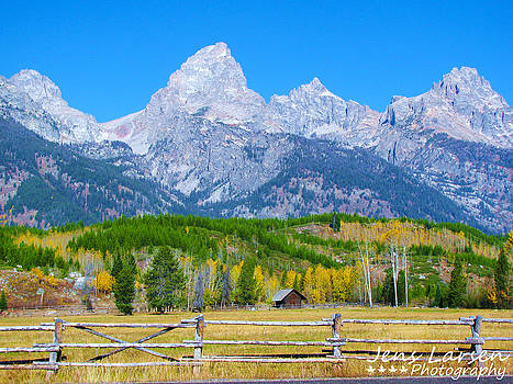Grand Tetons by Jens Larsen