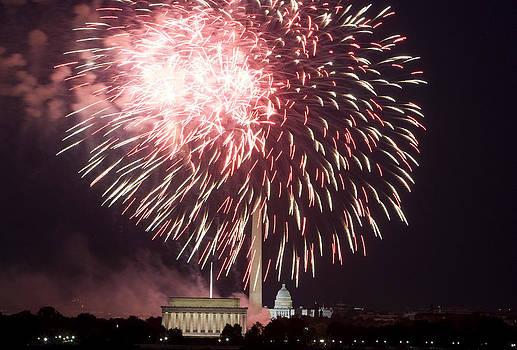 July 4th Fireworks by JP Tripp