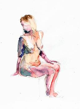 Life drawing by Bakhtiar Umataliev