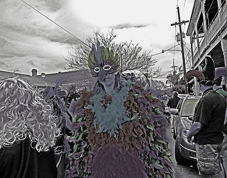 Mardi Gras Day in New Orleans by Louis Maistros