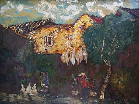 Memory street by Le Thi Viet Ha