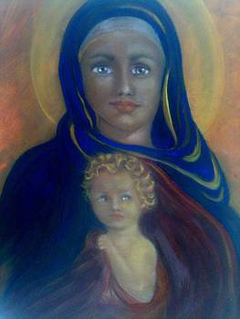 Mother and Child by Suzanne Reynolds