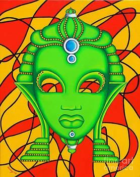 Nubian Modern Mask by Joseph Sonday