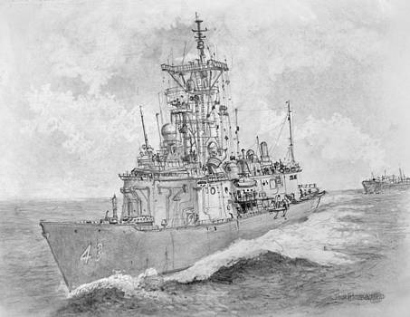 Jim Hubbard - USN Guided Missile Frigate