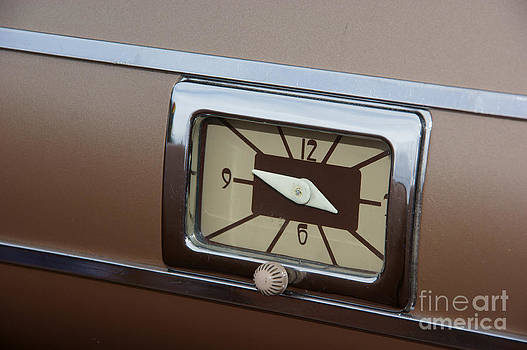 40 Ford Dash Clock by David Pettit