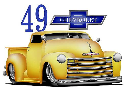 49 Chevrolet by Lyle Brown