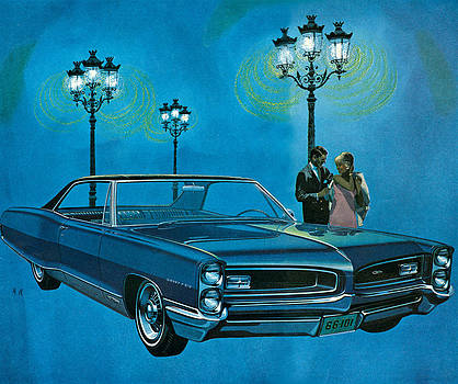 1960s Usa Pontiac Magazine Advert Detail by The Advertising Archives