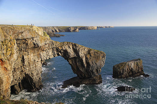 Green Bridge of Wales by Premierlight Images