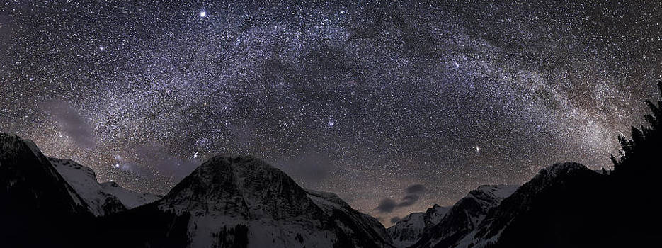 Milky Way over the Valley of Certain Doom by Lisa Hufnagel
