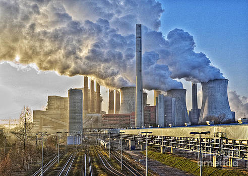 Neurath Power Station Germany by David Davies