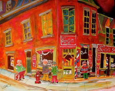 51 deMontigny Barber Shop by Michael Litvack