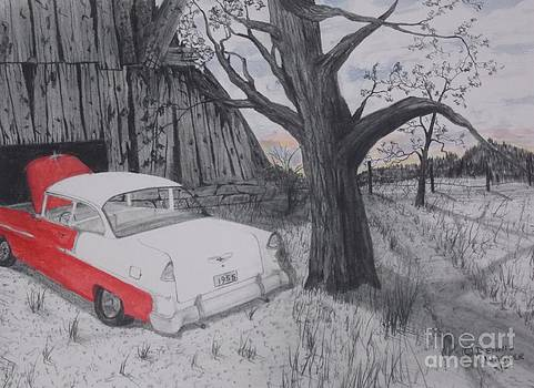 55 Chevy Barn by Dennis Wagner
