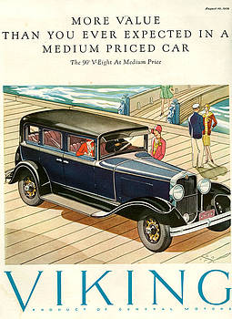 1920s Usa Viking Magazine Advert by The Advertising Archives