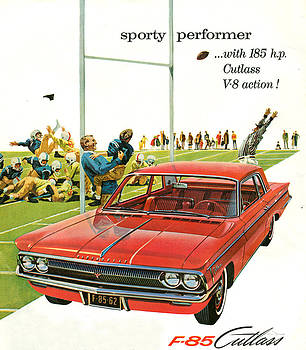 1960s Usa Oldsmobile Magazine Advert by The Advertising Archives