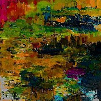 Abstract Landscape by Hema Rana