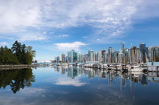 Downtown Vancouver by Volodymyr Kyrylyuk