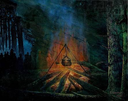 Fire Series by Edward Lambert