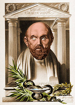 Science Source - Hippocrates Greek Physician