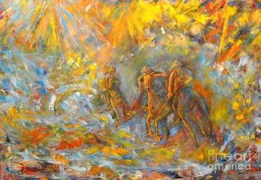 Poloplayer Ii by Dagmar Helbig