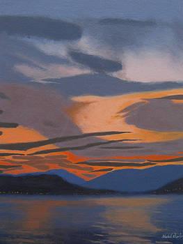 Sunset Fire by Malcolm Warrilow