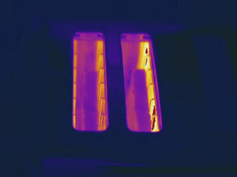 Toaster, Thermogram by Science Stock Photography
