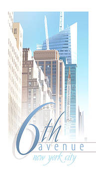 6th Avenue by Robert Conway