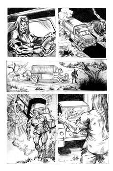 Comic Page by Abhishek Vishwakarma
