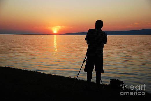 Joe Cashin - Lake Balaton sunset