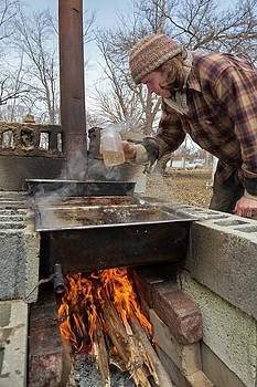 Maple Syrup Production by Jim West
