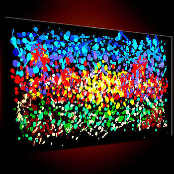 Most Wanted Art Award Oil Painting Original Abstract Modern Contemporary House Office Wall Deco  by Emma Lambert