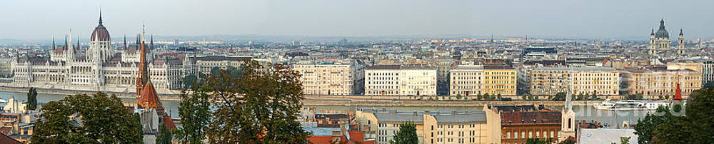 Gregory Dyer -   Budapest Hungary Panorama